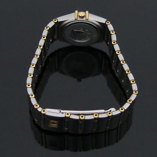 Omega(오메가) 18K 콤비 CONSTELLATION(컨스틸레이션) 하프바 자개판 여성용 시계 [부산센텀본점] 이미지3 - 고이비토 중고명품