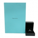 Tiffany(티파니) PT950(플래티늄) 0.51CT(캐럿) E컬러 VS1 웨딩 반지 - 10.5호