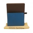 Louis Vuitton(루이비통) M32825 블루 컬러 타이가 멀티플 반지갑 [대구동성로점]