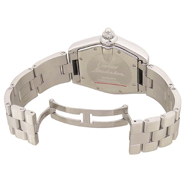 Cartier(까르띠에) W62025V3 ROADSTER(로드스터) 오토매틱 로마 인덱스 스틸 남성용시계 [강남본점] 이미지3 - 고이비토 중고명품