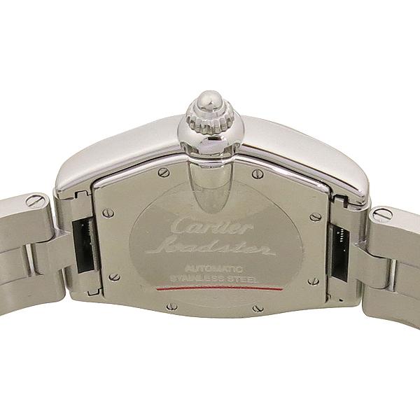 Cartier(까르띠에) W62025V3 ROADSTER(로드스터) 오토매틱 로마 인덱스 스틸 남성용시계 [강남본점] 이미지4 - 고이비토 중고명품