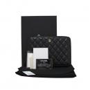 Chanel(샤넬) A69338 블랙 컬러 캐비어 스킨 금장 클러치 겸 태블릿 케이스 [대구반월당본점]