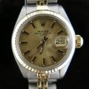 Rolex(로렉스) 빈티지 6917 14k 콤비 DATE(데이트) 여성용 시계 [대구동성로점]