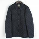 Burberry(버버리) 3976183 네이비 컬러 견장 장식 여성용 누빔 자켓 [강남본점]