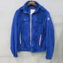 MONCLER(몽클레어) LYON(엘원) 블루 바람막이 남성용 자켓 [부산센텀본점]