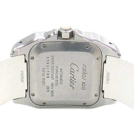 Cartier(까르띠에) W20122U2 산토스100 주년기념 오토매틱 시계  [대전본점] 이미지4 - 고이비토 중고명품