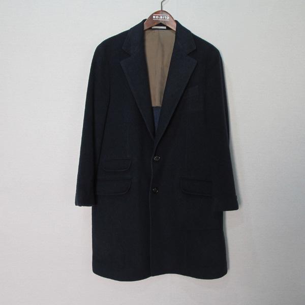 BRUNELLO CUCINELLI (브루넬로 쿠치넬리) 네이비 컬러 캐시미어 100 남성용 코트 [대구반월당본점]