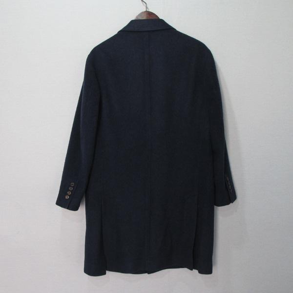 BRUNELLO CUCINELLI (브루넬로 쿠치넬리) 네이비 컬러 캐시미어 100 남성용 코트 [대구반월당본점] 이미지2 - 고이비토 중고명품