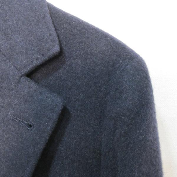 BRUNELLO CUCINELLI (브루넬로 쿠치넬리) 네이비 컬러 캐시미어 100 남성용 코트 [대구반월당본점] 이미지3 - 고이비토 중고명품