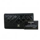 Chanel(샤넬) A31509 페이던트 TIMELESS(타임 리스) CLASSIC(클래식) 은장 로고 장지갑 [동대문점]