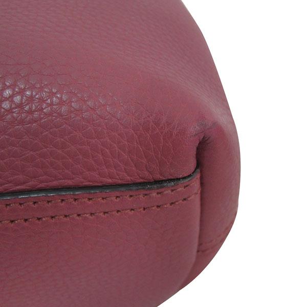 Gucci(구찌) 401173 핑크로즈 컬러 레더 금장 마몬트 로고 플랩 숄더백 [대구반월당본점] 이미지5 - 고이비토 중고명품
