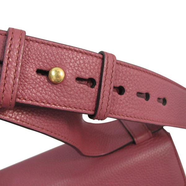 Gucci(구찌) 401173 핑크로즈 컬러 레더 금장 마몬트 로고 플랩 숄더백 [대구반월당본점] 이미지6 - 고이비토 중고명품