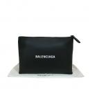 Balenciaga(발렌시아가) 485110 블랙 컬러 레더 애브리데이 클러치백 [대구동성로점]