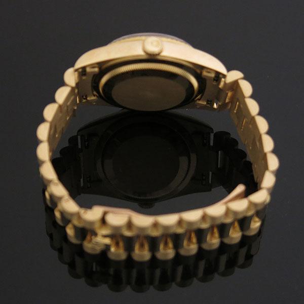 Rolex(로렉스) 18238 DAYDATE 데이데이트 18K 옐로우골드 금통 프레지던트 브레이슬릿 남성용시계 [대구동성로점] 이미지4 - 고이비토 중고명품