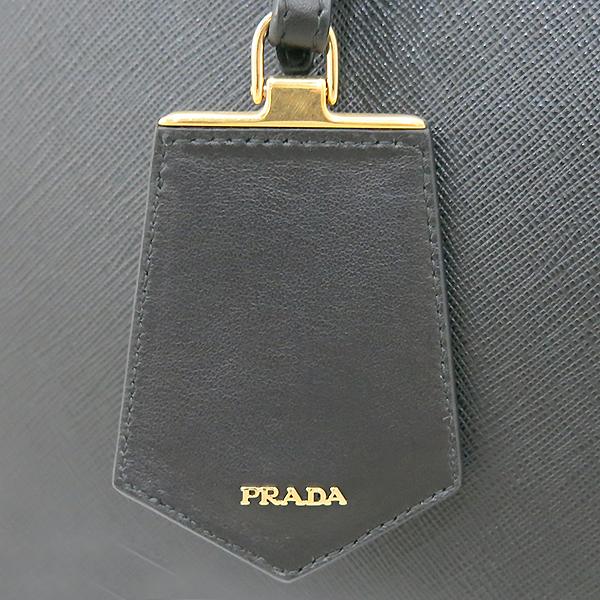 Prada(프라다) 1BA102 2EVU F0UGK 블랙레더 SAFFIANO CITY(사피아노 시티) 패러다임 토트백 + 숄더 스트랩 [부산센텀본점] 이미지5 - 고이비토 중고명품