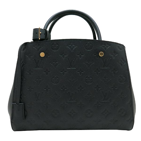 Louis Vuitton(루이비통) M41048 모노그램 앙프렝트 NOIR(블랙) 몽테뉴 MM 토트백+숄더스트랩 [인천점] 이미지2 - 고이비토 중고명품