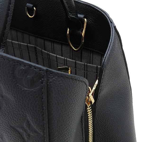 Louis Vuitton(루이비통) M41048 모노그램 앙프렝트 NOIR(블랙) 몽테뉴 MM 토트백+숄더스트랩 [인천점] 이미지4 - 고이비토 중고명품