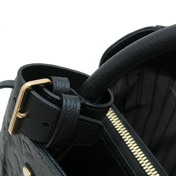 Louis Vuitton(루이비통) M41048 모노그램 앙프렝트 NOIR(블랙) 몽테뉴 MM 토트백+숄더스트랩 [인천점] 이미지5 - 고이비토 중고명품