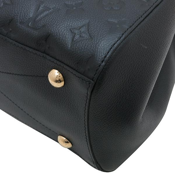 Louis Vuitton(루이비통) M41048 모노그램 앙프렝트 NOIR(블랙) 몽테뉴 MM 토트백+숄더스트랩 [인천점] 이미지6 - 고이비토 중고명품