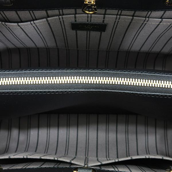 Louis Vuitton(루이비통) M41048 모노그램 앙프렝트 NOIR(블랙) 몽테뉴 MM 토트백+숄더스트랩 [인천점] 이미지7 - 고이비토 중고명품