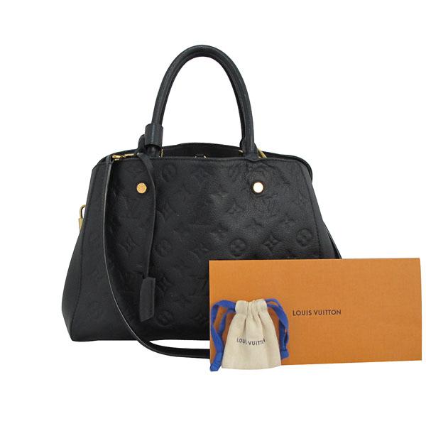 Louis Vuitton(루이비통) M41048 모노그램 앙프렝트 NOIR(블랙) 몽테뉴 MM 토트백+숄더스트랩 [대구반월당본점]