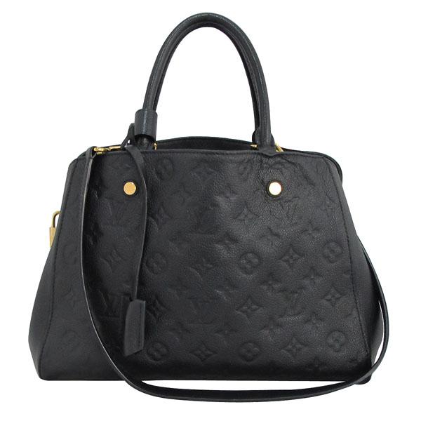 Louis Vuitton(루이비통) M41048 모노그램 앙프렝트 NOIR(블랙) 몽테뉴 MM 토트백+숄더스트랩 [대구반월당본점] 이미지2 - 고이비토 중고명품