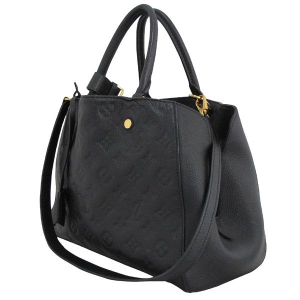 Louis Vuitton(루이비통) M41048 모노그램 앙프렝트 NOIR(블랙) 몽테뉴 MM 토트백+숄더스트랩 [대구반월당본점] 이미지3 - 고이비토 중고명품