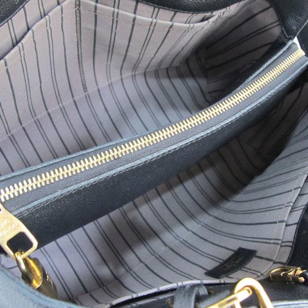 Louis Vuitton(루이비통) M41048 모노그램 앙프렝트 NOIR(블랙) 몽테뉴 MM 토트백+숄더스트랩 [대구반월당본점] 이미지6 - 고이비토 중고명품