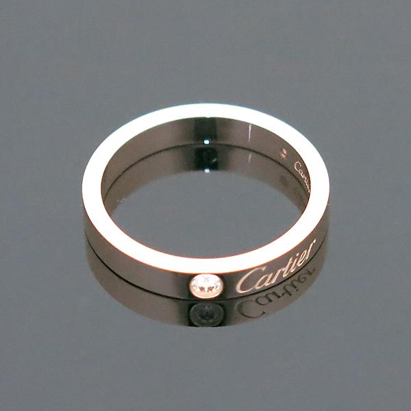Cartier(까르띠에) B4086450 18K 핑크 골드 인그레이빙 1포인트 웨딩 반지 - 10호 [부산센텀본점] 이미지2 - 고이비토 중고명품