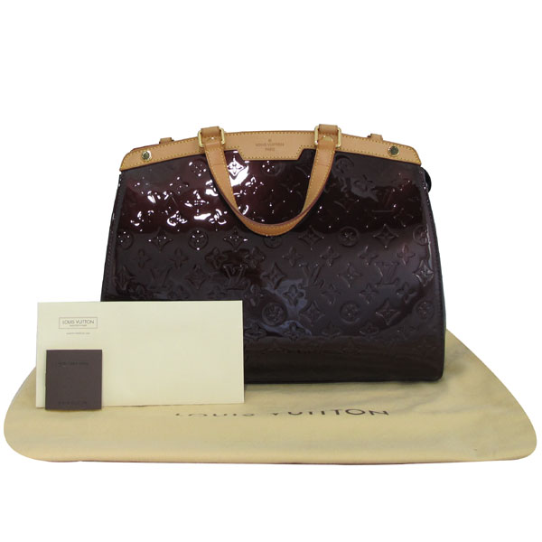 Louis Vuitton(루이비통) M91616 모노그램 베르니 아마랑뜨 브레아 GM 토트백 + 숄더스트랩 2WAY [대구반월당본점]