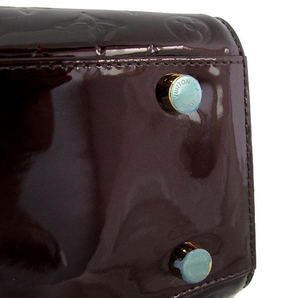 Louis Vuitton(루이비통) M91616 모노그램 베르니 아마랑뜨 브레아 GM 토트백 + 숄더스트랩 2WAY [대구반월당본점] 이미지6 - 고이비토 중고명품