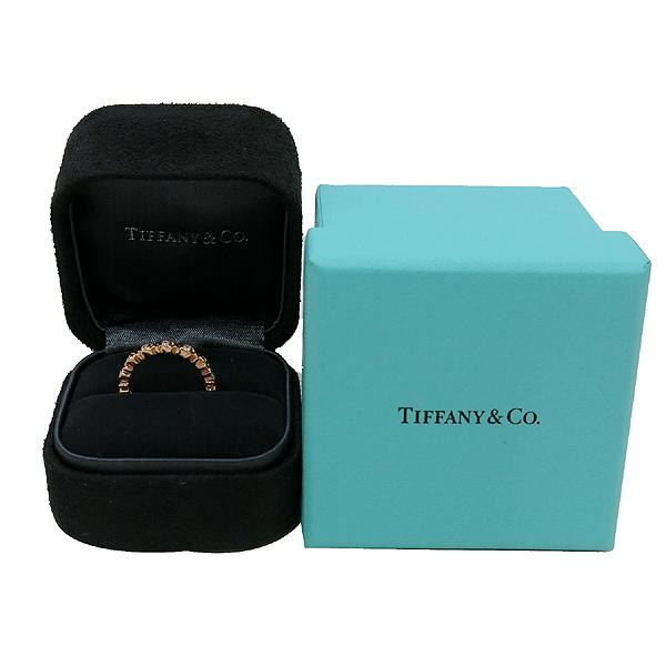 Tiffany(티파니) 18K(750) 옐로우 골드 3포인트 다이아 팔로마 피카소 러브 앤 키스 반지-8호 [인천점]