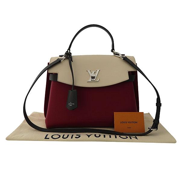 Louis Vuitton(루이비통) M52431 토뤼옹 Lie De Vin Etain Creme 체리 크림 그레이 배색컬러 락미 에버 MM 토트백 + 숄더스트랩 2WAY [잠실점]