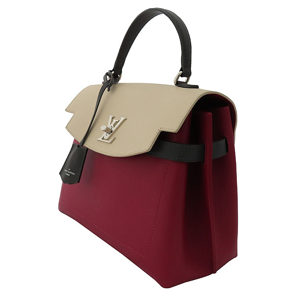 Louis Vuitton(루이비통) M52431 토뤼옹 Lie De Vin Etain Creme 체리 크림 그레이 배색컬러 락미 에버 MM 토트백 + 숄더스트랩 2WAY [잠실점] 이미지3 - 고이비토 중고명품