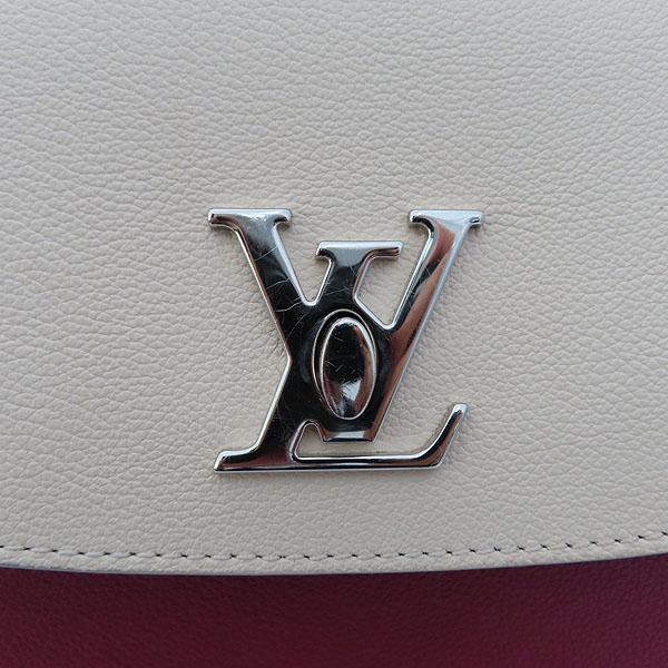 Louis Vuitton(루이비통) M52431 토뤼옹 Lie De Vin Etain Creme 체리 크림 그레이 배색컬러 락미 에버 MM 토트백 + 숄더스트랩 2WAY [잠실점] 이미지5 - 고이비토 중고명품