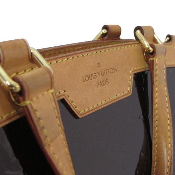 Louis Vuitton(루이비통) M91619 모노그램 베르니 아마랑뜨 브레아 MM 토트백 + 숄더스트랩 [대구반월당본점] 이미지5 - 고이비토 중고명품