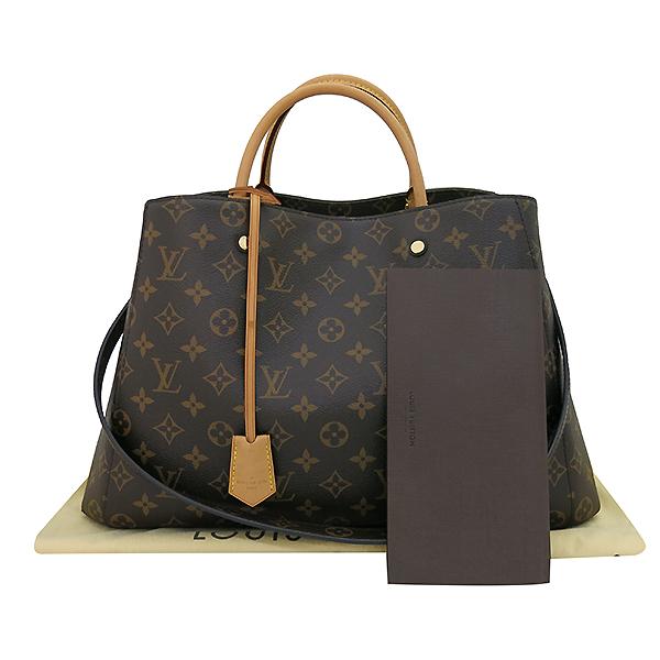 Louis Vuitton(루이비통) M41067 모노그램 캔버스 몽테뉴 GM 토트백 + 숄더스트랩2WAY [부산센텀본점]