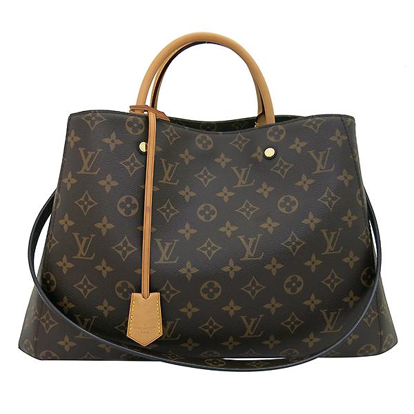 Louis Vuitton(루이비통) M41067 모노그램 캔버스 몽테뉴 GM 토트백 + 숄더스트랩2WAY [부산센텀본점] 이미지2 - 고이비토 중고명품