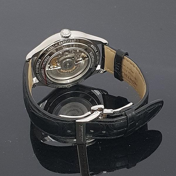 Montblanc(몽블랑) 114872 크로노메트리 헤리티지 트윈카운터 데이트 40MM 오토매틱 남성용 시계 [동대문점] 이미지3 - 고이비토 중고명품