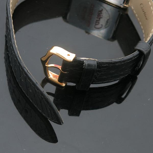 Cartier(까르띠에) W5200025 18K 옐로우 골드 스피넬 장식 탱크 솔로 남성용 쿼츠 레더 밴드 시계 [인천점] 이미지4 - 고이비토 중고명품