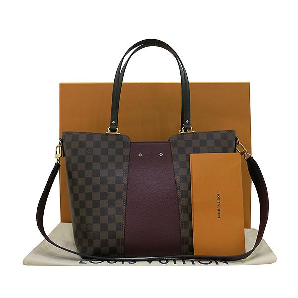 Louis Vuitton(루이비통) N44021 다미에 에벤 캔버스 저지 쇼퍼 숄더백 + 숄더 스트랩 2WAY [부산센텀본점]
