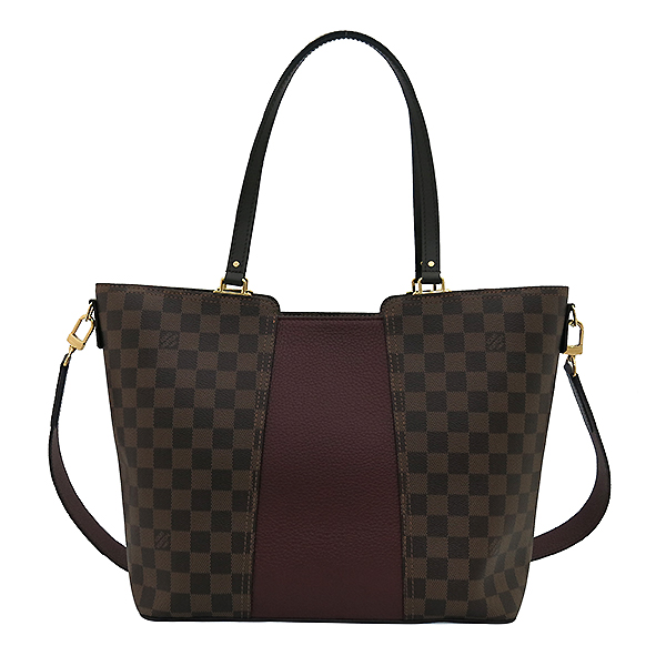 Louis Vuitton(루이비통) N44021 다미에 에벤 캔버스 저지 쇼퍼 숄더백 + 숄더 스트랩 2WAY [부산센텀본점] 이미지4 - 고이비토 중고명품