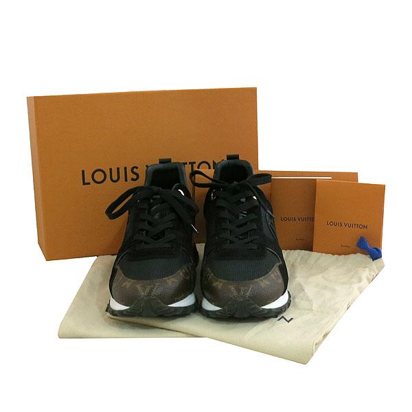 Louis Vuitton(루이비통) 1A3CW4 모노그램 스웨이드 배색 런 어웨이 남여공용 스니커즈 [대구동성로점]