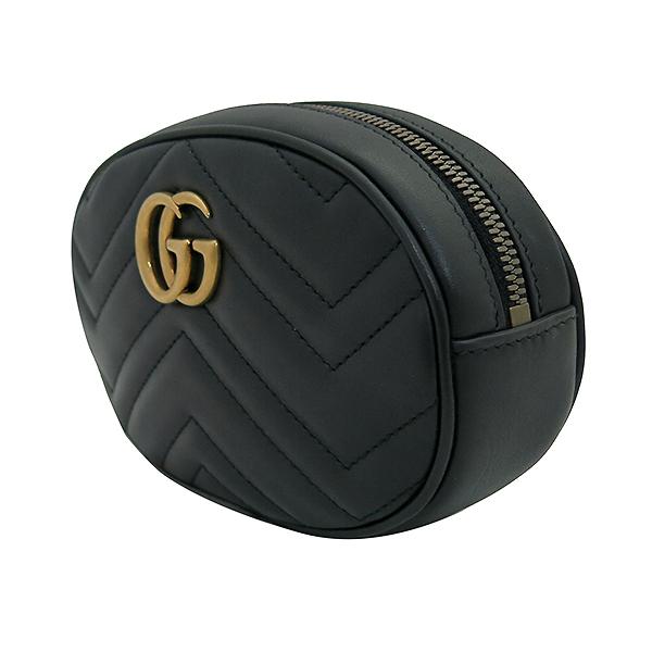 Gucci(구찌) 476434 GG 로고 블랙 레더 힙색 [부산센텀본점] 이미지3 - 고이비토 중고명품