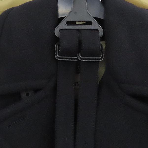 Burberry(버버리) 3942571 블랙 컬러 DUNINGTON(듀링톤) 모 캐시미어 혼방 양가죽 트리밍 여성용 트렌치 롱 코트 + 벨트 SET [대전본점] 이미지4 - 고이비토 중고명품