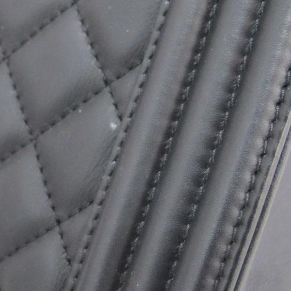 Chanel(샤넬) A92312 블랙 램스킨 퀼팅 보이 샤핑 여성용 토트백 [대구반월당본점] 이미지6 - 고이비토 중고명품