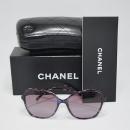 Chanel(샤넬) 5344-A 측면 COCO 로고 뿔테 여성용 선글라스
