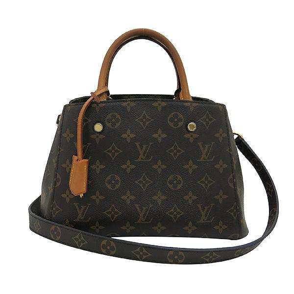 Louis Vuitton(루이비통) M41055 모노그램 캔버스 몽테뉴 (MONTAIGNE) BB 토트백 + 숄더스트랩 2WAY [부산센텀본점] 이미지2 - 고이비토 중고명품