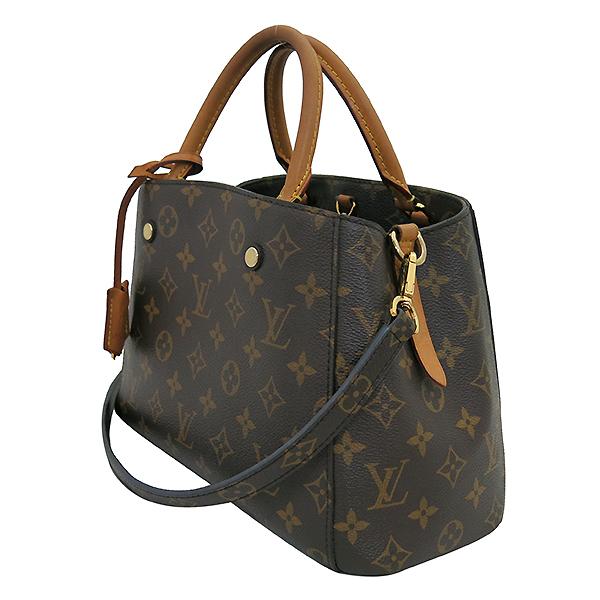 Louis Vuitton(루이비통) M41055 모노그램 캔버스 몽테뉴 (MONTAIGNE) BB 토트백 + 숄더스트랩 2WAY [부산센텀본점] 이미지3 - 고이비토 중고명품