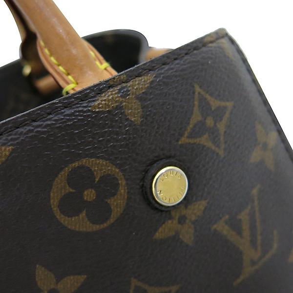 Louis Vuitton(루이비통) M41055 모노그램 캔버스 몽테뉴 (MONTAIGNE) BB 토트백 + 숄더스트랩 2WAY [부산센텀본점] 이미지5 - 고이비토 중고명품